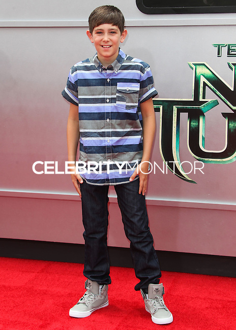 WESTWOOD, LOS ANGELES, CA, USA - AUGUST 03: Diego Velazquez at the Los Angeles Premiere Of Paramount Pictures' 'Teenage Mutant Ninja Turtles' held at Regency Village Theatre on August 3, 2014 in Westwood, Los Angeles, California, United States. (Photo by Celebrity Monitor)