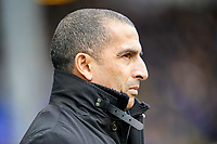 1st February 2020; St Andrews, Birmingham, Midlands, England; English Championship Football, Birmingham City versus Nottingham Forest; Sabri Lamouchi Manager of Nottingham Forest before the game