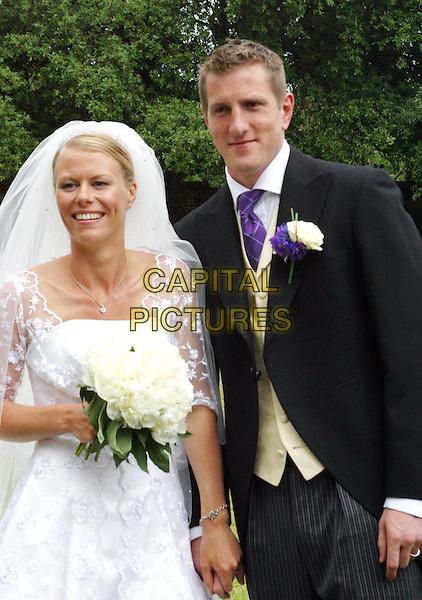 WILL GREENWOOD & CAROLINE TASKER.England Rugby stars wedding, Thorham, Norfolk.www.capitalpictures.com.sales@capitalpictures.com.© Capital Pictures.