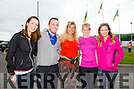 Mary Ryhall, Adrian Sheehan, Jenny Lyons, Aoife O'Connor and Louise McCarthy at the WALK4AUTISM 5km Walk at the John Mitchels complex on Sunday
