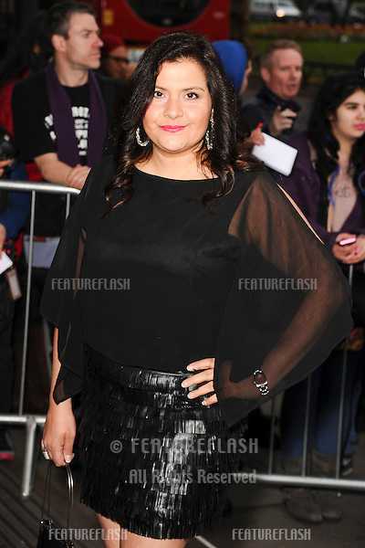 Nina Wadia arrives for The Asian Awards 2014 at the Grosvenor House Hotel, London. 04/04/2014 Picture by: Steve Vas / Featureflash