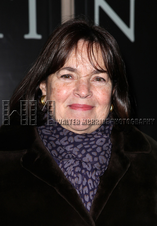 Ina Garten attending the Broadway Opening Night Performance of 'Cat On A Hot Tin Roof' at the Richard Rodgers Theatre in New York City on 1/17/2013