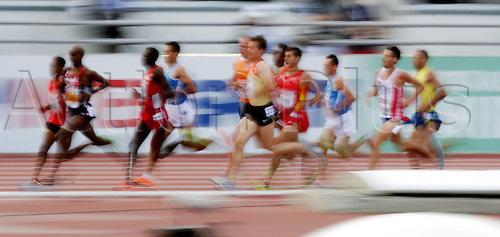 27 06 2012  Helsinki Athletics European Championships 2012 5000 Metres Final Feature Wischer Arne Gabius ger centre No 21