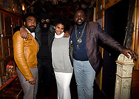 "LOS ANGELES - FEBRUARY 19: Donald Glover, Lakeith Stanfield, Zazie Beetz, and Brian Tyree Henry  at the party for FX's ""Atlanta Robbin' Season"" at the Clifton Cafeteria on February 19, 2018 in Los Angeles, California.(Photo by Frank Micelotta/FX/PictureGroup)"