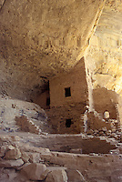Anasazi cliff dwellings at Tree House in Ute Mountain Tribal Park, Colorado, U.S.A.