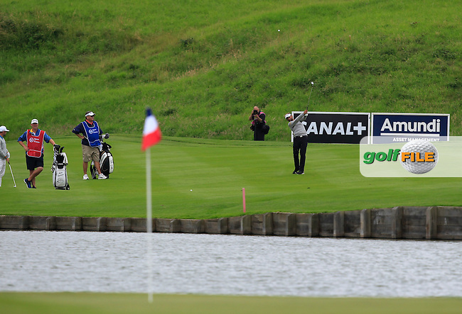 Joost Luiten (NED) on the 15th fairway during Round 4 of the 100th Open de France, played at Le Golf National, Guyancourt, Paris, France. 03/07/2016. <br /> Picture: Thos Caffrey | Golffile<br /> <br /> All photos usage must carry mandatory copyright credit   (&copy; Golffile | Thos Caffrey)