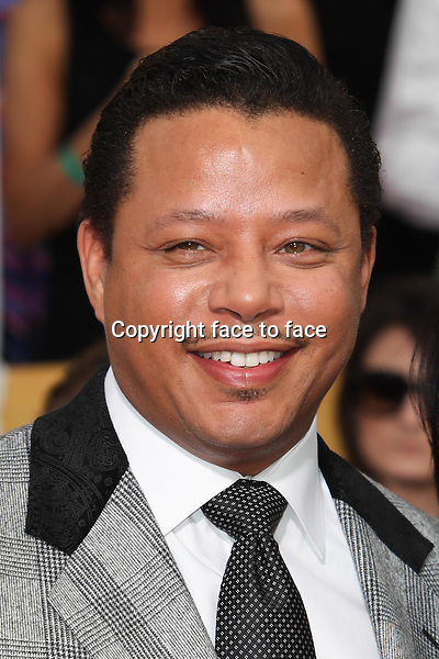 LOS ANGELES, CA - JANUARY 18: Terrence Howard attending the 2014 SAG Awards in Los Angeles, California on January 18, 2014.<br /> Credit: RTNUPA/MediaPunch<br /> Credit: MediaPunch/face to face<br /> - Germany, Austria, Switzerland, Eastern Europe, Australia, UK, USA, Taiwan, Singapore, China, Malaysia, Thailand, Sweden, Estonia, Latvia and Lithuania rights only -