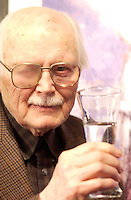 January 2003 File Photo of animation filmmaker  Frederick Back who juste passed away at 80, on December 24, 2013