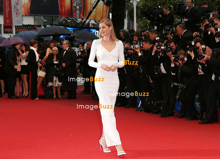 CPE/Doutzen Kroes attends the 'Jimmy P. (Psychotherapy Of A Plains Indian)' Premiere during the 66th Annual Cannes Film Festival at the Palais des Festivals on May 18, 2013 in Cannes, France.