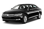 2015 Volkswagen Passat Comfort 4 Door Sedan Angular Front stock photos of front three quarter view