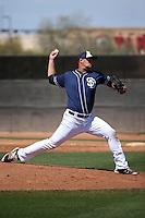 Trevor Megill - San Diego Padres 2016 spring training (Bill Mitchell)