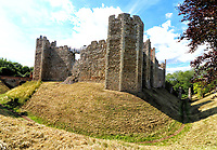 JUL 12 Framlingham Castle, Suffolk