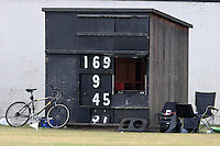 General view of the scorebox - Leyton County CC vs Belhus CC - Lords International League at Leyton County CC, Crawley Road, Leyton - 26/07/08 - MANDATORY CREDIT: Gavin Ellis/TGSPHOTO - Self billing applies where appropriate - Tel: 0845 094 6026