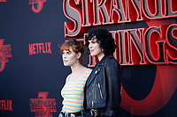 "LOS ANGELES - JUN 28:  Tallulah Belle Willis, Rumer Willis at the ""Stranger Things"" Season 3 World Premiere at the Santa Monica High School on June 28, 2019 in Santa Monica, CA"