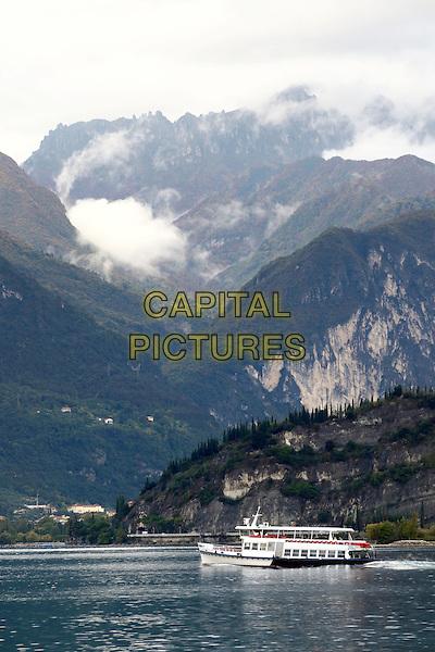 LAGO DI GARDA, ITALY - Ferry on Lago di Garda (Lake Garda) on 17 October 2015 in Lago di Garda, Italy<br /> <br /> CAP/ROS<br /> &copy;ROS/Capital Pictures