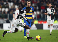 Calcio, Serie A: Juventus - Parma, Turin, Allianz Stadium, January 19, 2020.<br /> Juventus' Blaise Matuidi during the Italian Serie A football match between Juventus and Parma at the Allianz stadium in Turin, January 19, 2020.<br /> UPDATE IMAGES PRESS/Isabella Bonotto