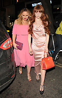 Kimberley Walsh and Nicola Roberts at the Bardou Foundatioon's International Women's Day Gala, The Hospital Club, Endell Street, London, England, UK, on Thursday 08 March 2018.<br /> CAP/CAN<br /> &copy;CAN/Capital Pictures