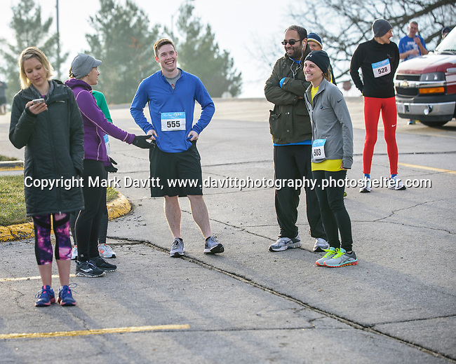 Runners arrived early in the chilly, foggy morning to Doans Park in Pleasant Hill for the Springtime Hill Climb. Caring Hands of Altoona in conjuction with Pleasant Hill hosted the fifth annual event April 1.