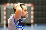 ROTTERDAM  - NK Nacompetitie Zaalhockey heren. HCKZ-Venlo (3-5) Venlo  promoveert.  Laurens Goedegebuure van KZ    COPYRIGHT KOEN SUYK
