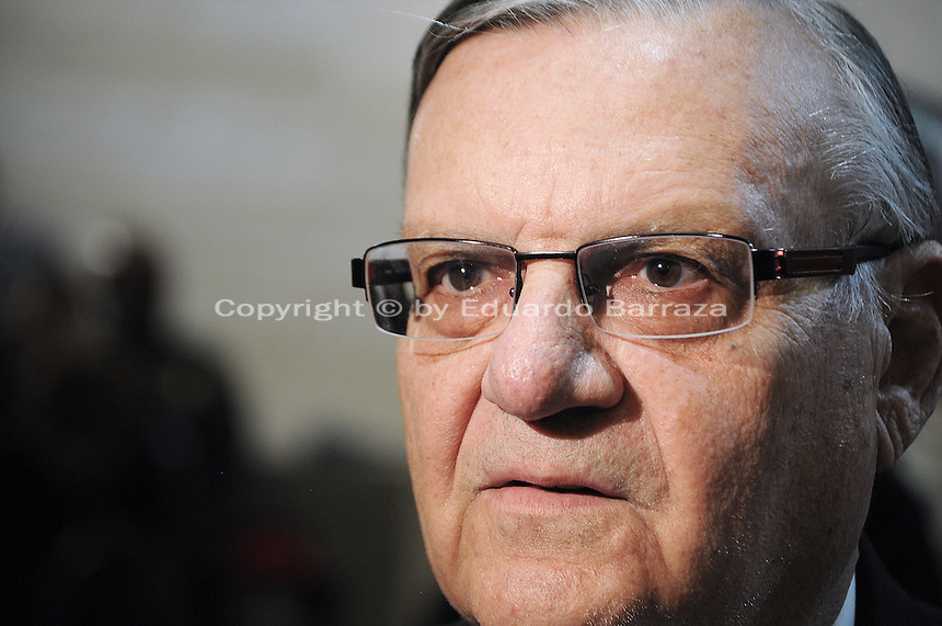 Phoenix, Arizona - Maricopa County Sheriff Joe Arpaio.