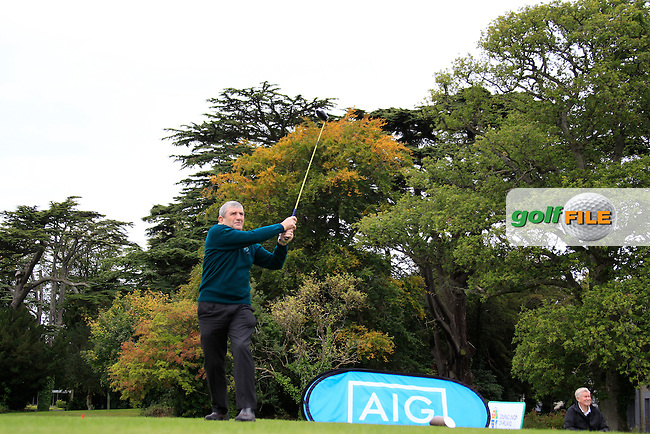 Jack Looby (Thurles) during the AIG Pierce Purcell Shield Final during the AIG Cups &amp; Shields National Finals, Carton House, Maynooth, Co Kildare.<br /> Picture Golffile | Fran Caffrey
