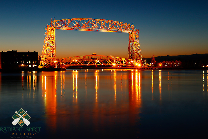 &quot;Twilight Aerial Lift Bridge&quot;<br />