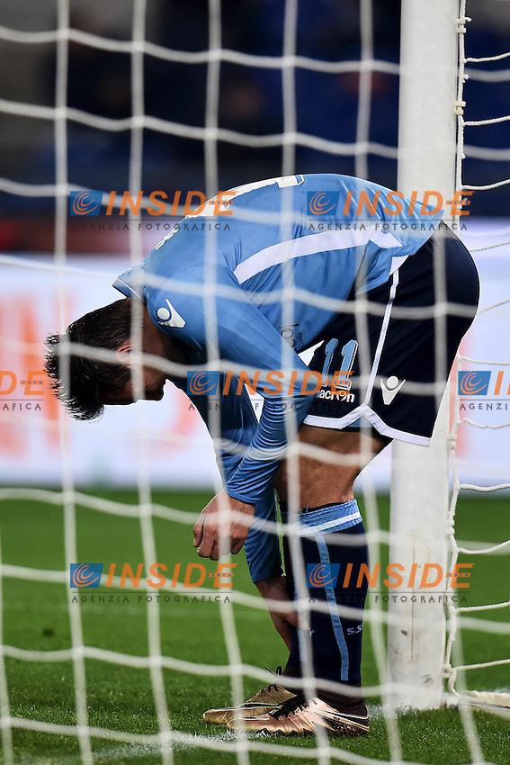 Miroslav Klose Lazio <br /> Roma 04-12-2015 Stadio Olimpico Football Calcio 2015/2016 Serie A Lazio - Juventus Foto Andrea Staccioli / Insidefoto