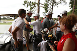 HOWEY IN THE HILLS, FL - MAY 19: Wittenberg players and fans celebrate their national championship after the Division III Men's Golf Championship held at the Mission Inn Resort and Club on May 19, 2017 in Howey In The Hills, Florida. (Photo by Cy Cyr/NCAA Photos via Getty Images)