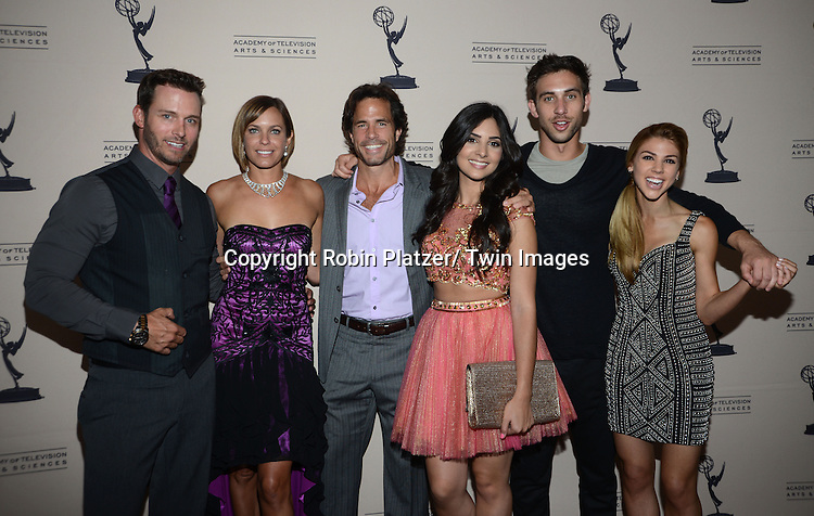 Days of Our Lives group shot attend the Academy Of Television Arts & Science Daytime Programming  Peer Group Celebration for the 40th Annual Daytime Emmy Awards Nominees party on June 13, 2013 at the Montage Beverly Hills in Beverly Hills, California.