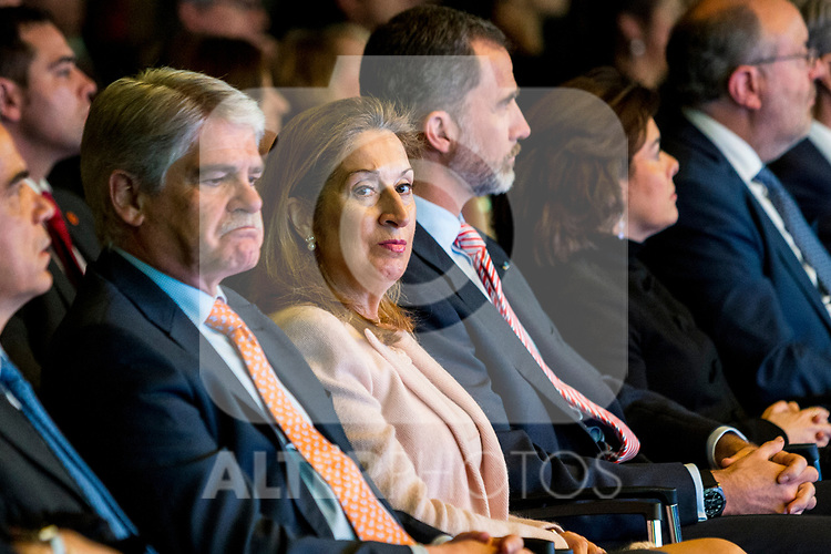 "Ana Pastor attends XXXIV International prizes of journalism ""Rey de Espana"" and the XIII edition of the prize ""Don Quijote"" of journalism in Madrid, Spain. March 27, 2017. (ALTERPHOTOS / Rodrigo Jimenez)"