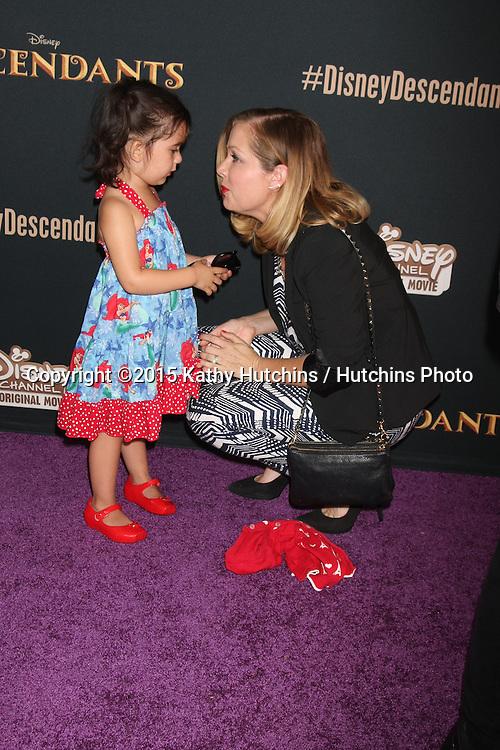 "LOS ANGELES - JUL 24:  Jennifer Aspen at the ""Descendants"" Premiere Screening at the Walt Disney Studios on July 24, 2015 in Burbank, CA"