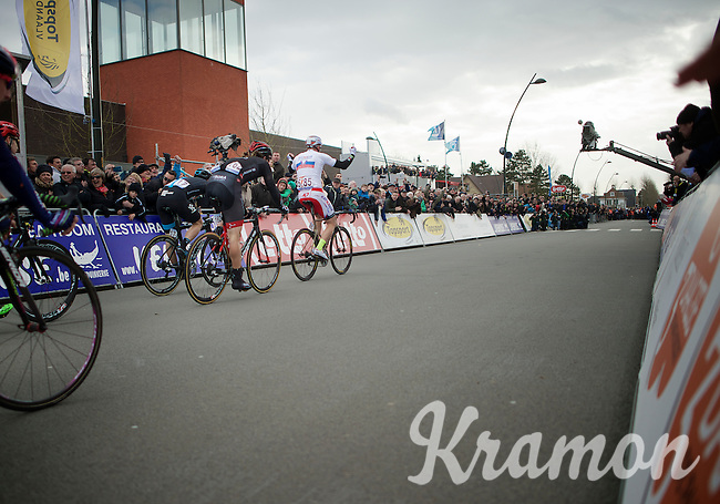 Alexander Kristoff (NOR/Katusha) is yet again the stage winner (and overall leader)<br /> <br /> 3 Days of De Panne 2015