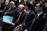 Washington, DC - April 25, 2019: Elliott Abrams, Special Representative for Venezuela at the Department of State, attends a discussion at the Atlantic Council in Washington, D.C., April 25, 2019.  (Photo by Lenin Nolly/Media Images International)