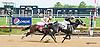 White Clover winning at Delaware Park on 5/16/15