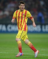 FUSSBALL  CHAMPIONS LEAGUE   SAISON 2013/2014   Vorrunde     AC Mailand - FC Barcelona       22.10.2013 Lionel Messi (Barca)