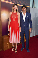 "LOS ANGELES - July 27:  Delfina Blaquier, Nacho Figueras at ""The Last Tycoon"" Premiere at the Harmony Gold Theater on July 27, 2017 in Los Angeles, CA"