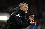 Bournemouth Manager Eddie Howe issues instructions<br /> - Barclays Premier League - Bournemouth vs Manchester United - Vitality Stadium - Bournemouth - England - 12th December 2015 - Pic Robin Parker/Sportimage