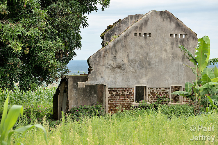 Remnant of recent wars near Kamina, in the Democratic Republic of the Congo.