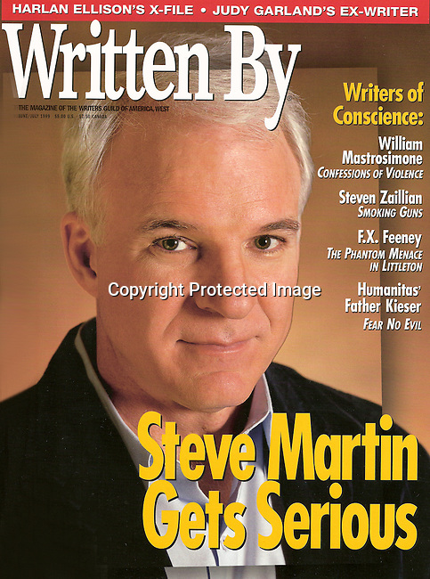Written By cover featuring Steve Martin.
