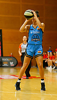 29th December 2019; Bendat Basketball Centre, Perth, Western Australia, Australia; Womens National Basketball League Australia, Perth Lynx versus Canberra Capitals; Kia Nurse of the Canberra Capitals shoots from outside the three point line - Editorial Use