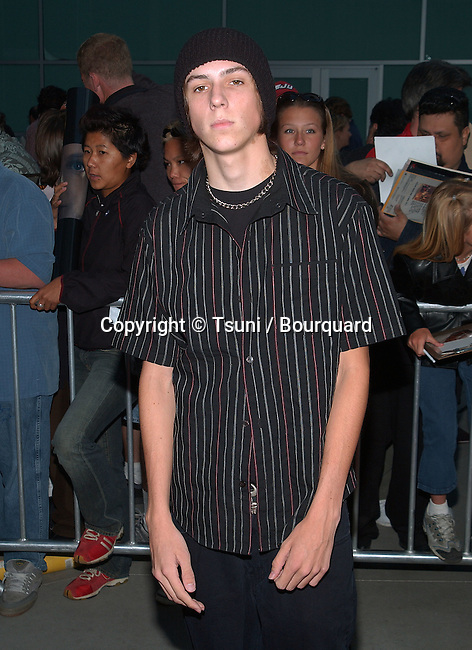 """Jake Richardson posing at the premiere of the """" Dangerous Lives of Altar Boys """" as at the Arclight Hollywood at the Cinerama Dome in Los Angeles. June 4, 2002.           -            RichardsonJake10.jpg"""