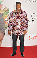 John Boyega at the &quot;Queen of Katwe&quot; 60th BFI London Film Festival Virgin Atlantic gala screening, Odeon Leicester Square cinema, Leicester Square, London, England, UK, on Sunday 09 October 2016.<br /> CAP/CAN<br /> &copy;CAN/Capital Pictures /MediaPunch ***NORTH AND SOUTH AMERICAS ONLY***