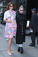 APR 04 Abbie Cornish and Jacqueline King at Strahan & Sara