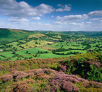 Great Britain, England, Derbyshire, Peak District National Park: View over Hope Valley | Grossbritannien, England, Derbyshire, Peak District National Park: das Hope Valley