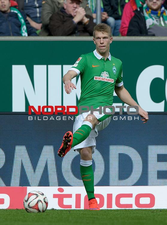 04.04.2015, Weserstadion, Bremen, GER, 1.FBL, Werder Bremen vs 1. FSV Mainz 05, im Bild Janek Sternberg (Bremen #37)<br /> <br /> Foto &copy; nordphoto / Frisch