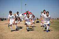 Dallas, TX - October 20, 2019: U.S. Soccer Development Academy Boys' U-14 Fall Central Regional Showcase at MoneyGram Soccer Park.