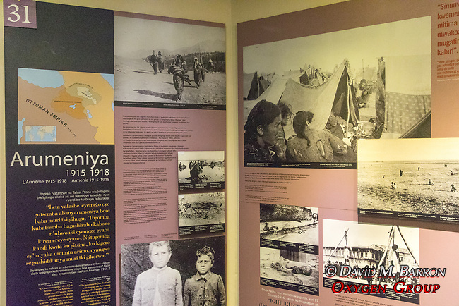 Kigali Genocide Museum Exhibit Of The Armenian Genocide
