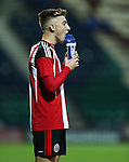 Harvey Gilmour of Sheffield United under 18's during the FA Youth Cup 3rd Round match at Deepdale Stadium, Preston. Picture date: November 30th, 2016. Pic Matt McNulty/Sportimage