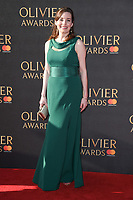 Rebecca Trehearn at The Olivier Awards 2017 at the Royal Albert Hall, London, UK. <br /> 09 April  2017<br /> Picture: Steve Vas/Featureflash/SilverHub 0208 004 5359 sales@silverhubmedia.com