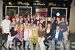 FIFTY: Michael McCarthy the square, Tralee who celebrated his 50th birthday in Paddy Mac's Bar, Tralee on Wedneday night with family and friends(Michael is seated centre).   ................................. ....